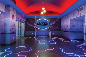 The Floor In Lobby Holding Area Of Kennedy Space Center Astronaut Encounter Is