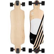 100 Drop Through Longboard Trucks Goldcoast Pluton 36 Skateboard With Caliber