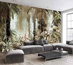 tapete 3d fototapete handgemalte tropische regenwälder pflanzen landschaft moderne wandtapete murals fototapete 3d tapete effekt vlies wandbild