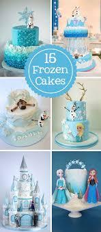 15 amazing frozen inspired cakes jexshop eiskönigin