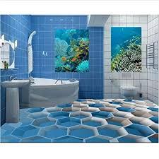 qqasd 3d bodenfliesen für badezimmer benutzerdefinierte 3d
