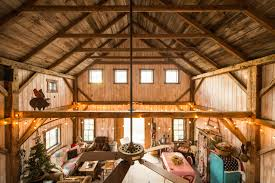 Barn Homes Barns And Home Interiors On Pinterest ~ Idolza Rustic Barn Wedding Reception Ideas The Bohemian Outdoor Old Turned Into A Charming Bgerie Decoholic Uncategorized Barns Homes Christassam Home Design House Bank Renovation Update Blackburn Architects Pc Monitor Modular Horse Horizon Structures Not Enough Room On Your Roof For Solar Use Barn Or Garage Simple Tiny Houses To Make It Seems So Modern
