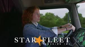 Star Fleet Trucking - Women Trucking Jobs - YouTube