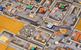 Dungeon War Is A Game For 2 4 Players Where The Player Control Groups Of Heroes And Monsters In An Expanding Must Gather As Much Treasure