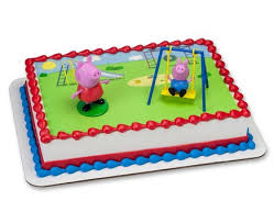 peppa pig cake decorations peppa pig cake decorating supplies cakes