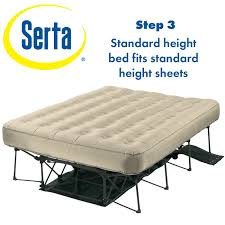 Aerobed Raised Queen With Headboard by The Intex Raised Air Bed Is Well Rated By Consumers And Is Also