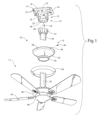 Encon Ceiling Fan Wiring Diagram by Patent Us8336844 Mounting System For Supporting A Ceiling Fan