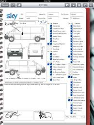 Car Rental Company Uses IPad For Vehicle Inspection | Form Connections 2part Daily Truck Inspection Sheets 1000 Forms Aw Direct Drivers Please Make Sure Your Unrride Rear Impact 6 Free Vehicle Modern Looking Checklists For Weekly Checklist Template Car Maintenance Tanker Truck Water Oil Oil Rmi020 Used Presales Form Pad Rmi Webshop Nasa Ames Research Center Apg17001 Chapter 17 Commercial Fleet Buyrite Tyres Septic Tank 65 With 29 Images Of Report Infovianet Mighty Auto Parts Part 396 Page 1 Formpng