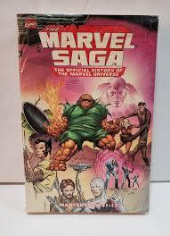Essential The Marvel Saga Vol 1 Comics TPB Official History Univ