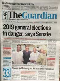 Pulse Frontpage Read Todays Newspaper Headlines Wednesday