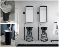 Pedestal Sink Storage Solutions by Pedestal Sink Bathroom Design Ideas