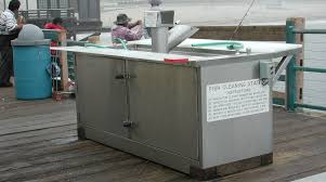 Fish Cleaning Station With Sink by Fish Cleaning Station U0026 Fish Cleaning Table Jwce