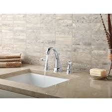 Delta Cassidy Bathroom Faucet by Delta Windemere Widespread Bathroom Faucet With Double Lever