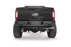 Premium Rear Bumper - Aftermarket Truck Accessories