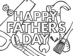 Free Coloring Pages Fathers Day