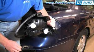 how to install replace taillight ford taurus 00 03 1aauto