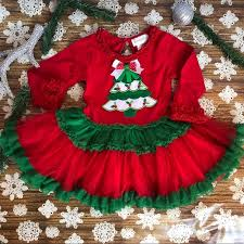 Emily Rose Girls Christmas Tree Tutu Party Dress
