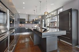 awesome metal kitchen island base with brushed stainless steel