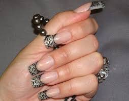 Top 10 Latest French Tip Nail Art Designs 2018 Update