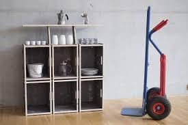 kleiner küchentresen mit regal regalsystem werkbox
