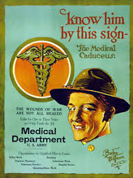Image Is Loading Vintage Medical POSTER Army Doctor Room Art Decor