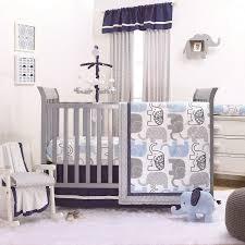 The Peanut Shell 4 Piece Baby Boy Crib Bedding Set Little Peanut