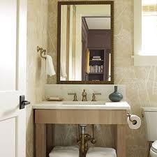 Coastal Living Bathroom Decorating Ideas by Half Bathroom Design The Half Bathroom Space Savvy Design Coastal