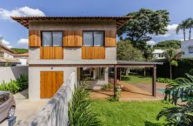 100 Woods Sao Paulo Revamped 50s Home In So Built For Outdoor Living