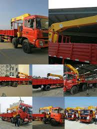 100 Truck Mounted Boom Lift Hyundai Crane With 10 Ton Ing Capacity