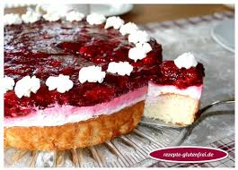 himbeer frischkäse torte tanja s glutenfreies kochbuch