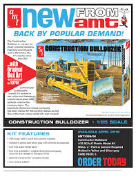 AMT Construction Bulldozer - Truck Kit News & Reviews - Model Cars ...