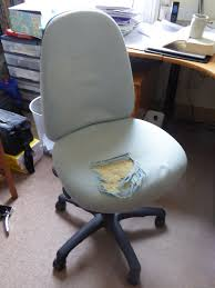 Office Chair Arms Replacement by Give Those Old Desk Chairs New Life 7 Steps With Pictures
