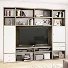 wohnzimmer tv regalwand in sonoma eiche colcesca