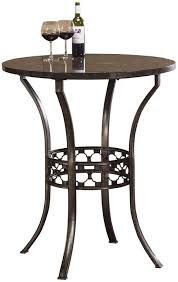 3 Piece Bar Height Patio Bistro Set by Hillsdale Brescello 3 Piece Bar Height Bistro Dining Set Beyond