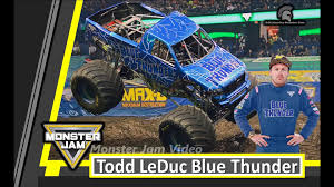 100 Monster Truck Oakland Jam The Netherlands 2016 Blue Thunder Winning