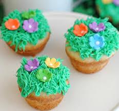 Spring Break Cupcake Decorating