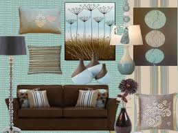Brown And Teal Living Room by Versatile Duck Egg Mix With Brown Tones For Winter Scheme