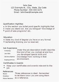 Contemporary Bartending Resume New Bartender Examples