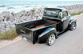 100 1952 Chevy Panel Truck 1954 3100 Papas Hot Rod Network