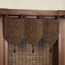 Leopard Print Window Curtains Foter