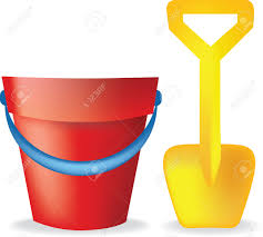Sandy Beach Clipart Sand Pail