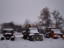 Old Trucks In Snow | Lisa Winnett | Flickr