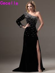 one sleeve evening gown promotion shop for promotional one sleeve