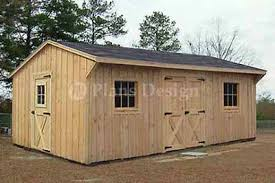 8x10 Saltbox Shed Plans by Plans Collection On Ebay
