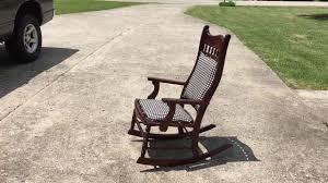 Restoration Of Antique Rocking Chair - YouTube Restoration Of Antique Rocking Chair Youtube Reclaimed Chair How To Tell If Metal Fniture And Decor Is Worth Wood Country Tl Red Cedar Refurbished 1800s Antique Rocking Renee Rose Design Diy Upcycle Tutorial My Creative Days Diy Throne Bangkokfoodietourcom Pretty Painted A Beautiful Baby Gift Charmant Rustic Patio Outdoor Garden Charming Hack Using Denatured Alcohol Strip Stain Black Goes From Dated Stunning