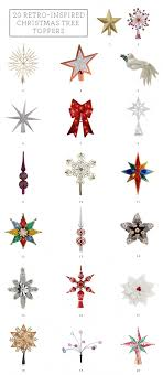 20 Retro Inspired Christmas Tree Toppers