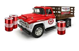 100 Texaco Toy Truck Amazoncom 1957 Chevrolet Stake Bed WhiteRed With 3 Oil