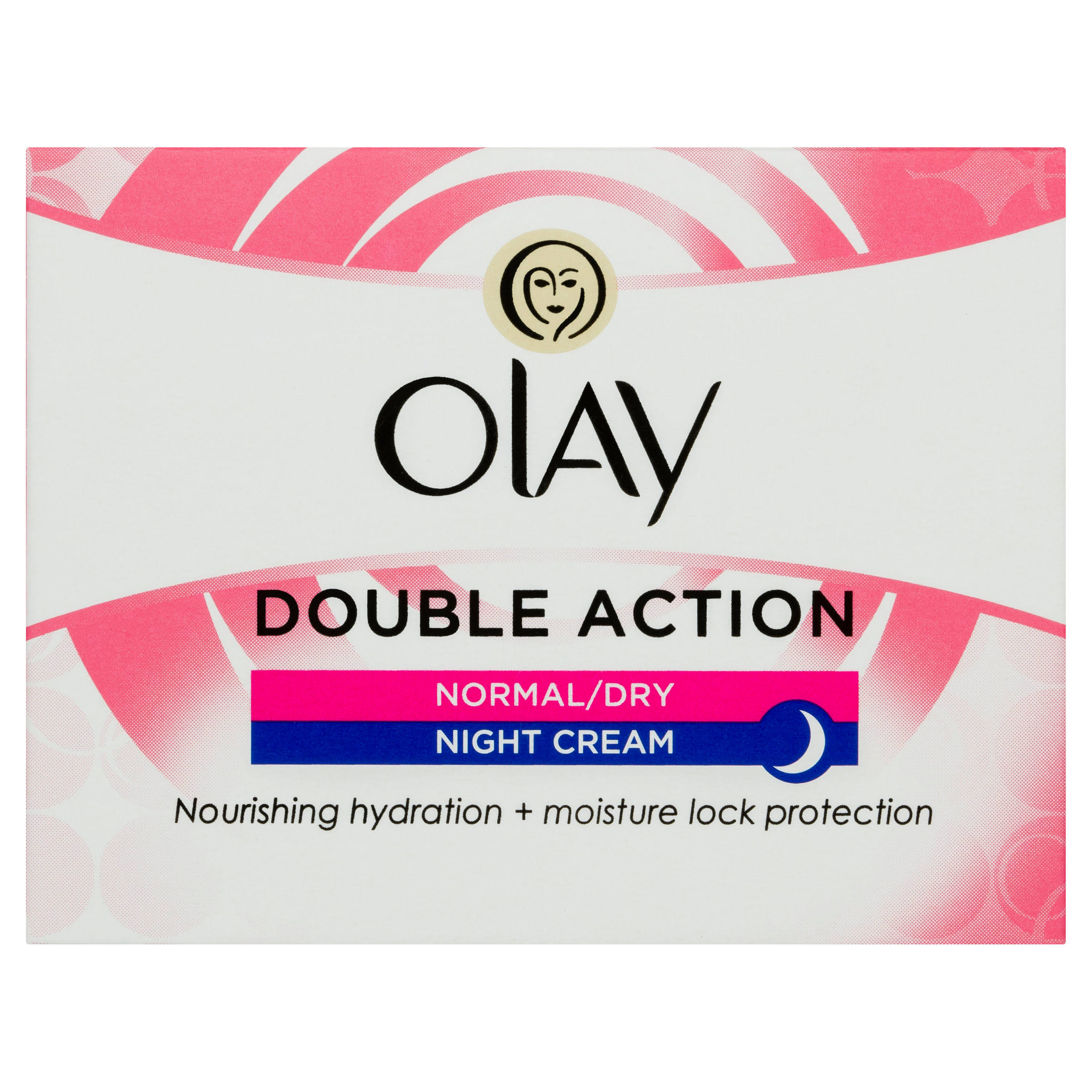 Olay Double Action Night Cream For Normal And Dry Skin - 50ml