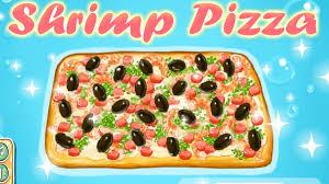 jeux de cuisine de pizza de jeu de pizza de la mer