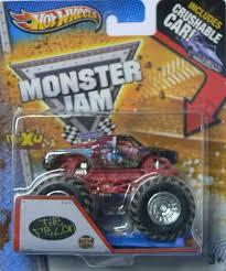 100 Monster Truck Jam 2013 Hot Wheels The Felon With Crushable Car